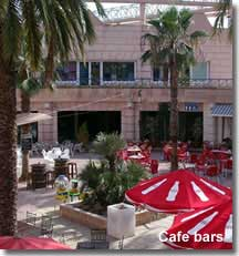 Commercial centre and cafe bars in Aguadulce