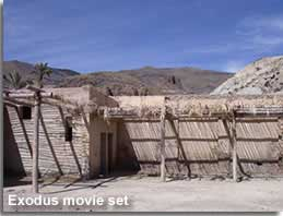 Exodus movie set in Sierra Alhamilla Almeria