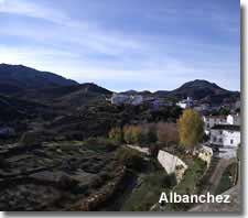Traditional farming village of the Almanzora valley