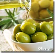 Olive oil traditional ingredient of the Almanzora