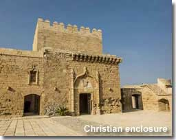 Christian castle enclosure of the Alcazaba