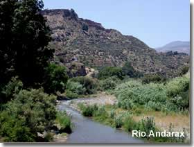 River Anderax in the Alpujarra of Almeria