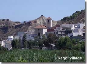 Ragol village in the Alpujarra of Almeria