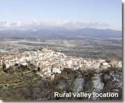 Seron village and the Almanzora valley