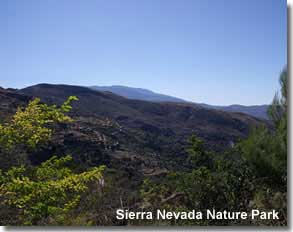 Sierra Nevada Nature Park in Almeria Spain