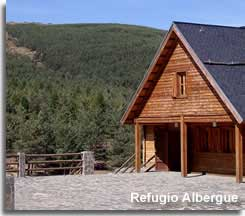 Accommodation at Puerta de la Ragua in the Sierra Nevada of Andalucia