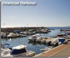 Villaricos harbour and boats
