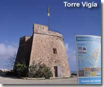Torre Vigia and Tourist Information Centre at Villaricos