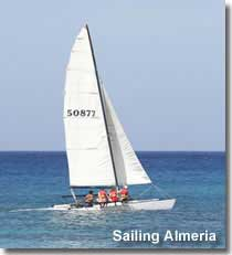 Sailing in Almeria