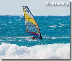 Windsurfing in Almeria