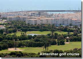 Golf courses in Almeria  Andalucia Spain