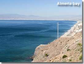 Almeria Nude Beach Map