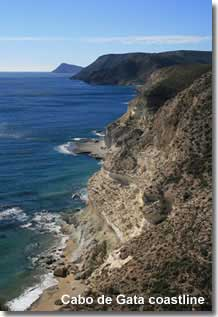 Coastline of Cabo de Gata