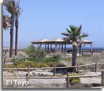 El Toyo beach resort gardens