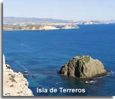 Terreros island off the Coast of San Juan de los Terreros