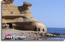 Playa Cerrada, Pulpi, Almeria Beach