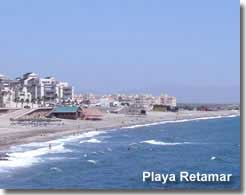 Retamar beach in Almeria