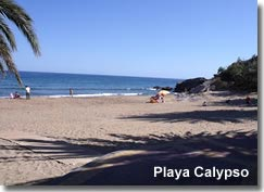 Playa Calypso in the San Juan de los Terreros resort of Almeria