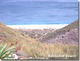 Secluded beach of Cabo de Gata