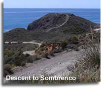 Trail to Sombrerico beach