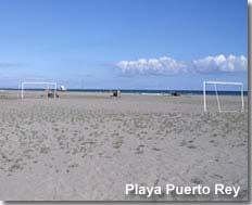 Winter in Playa Puerto Rey Vera Playa