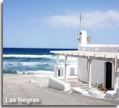Beach house on the shores of Las Negras
