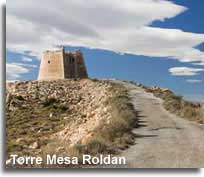 Torre Roldan on the Mesa Roldan peak