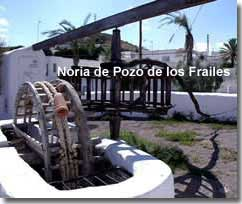 Restored water wheel in Cabo de Gata
