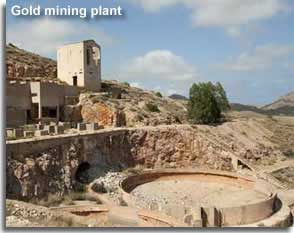 Abandoned Gold Mine in Rodalquilar