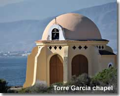 Beach side chapel of Torre Garcia