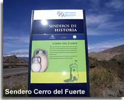 The Cerro Fuerte historical walking trail in the Alhamilla mountains of Almeria