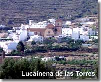 Lucainena pueblo on the walking route of the Alhamilla - Filabres villages in Almeria