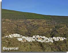 Bayaracl village in the Sierra nevada of Almeria