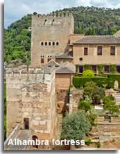 The Alhambra fortress
