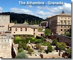 The Alhambra in Granada province
