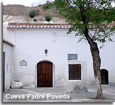 Cave home of Father Poveda in Guadix