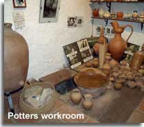 Potters Wheel at the Guadix museum