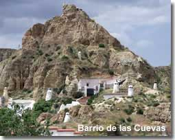 Troglodyte caves of Guadix