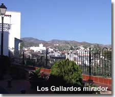 Views from the Los Gallardos mirador