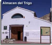 Almacen del Trigo visitors and information centre in Velez Blanco village