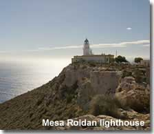 Mesa Roldan lighthouse