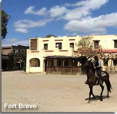 Fort Bravo wild west attraction