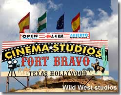 Fort Bravo western attraction