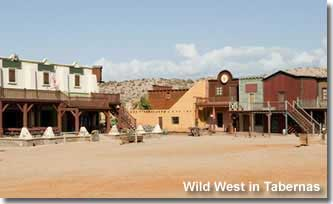 Wild West desert location