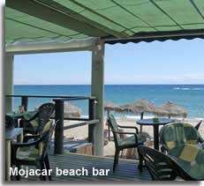 Mojacar beach bar