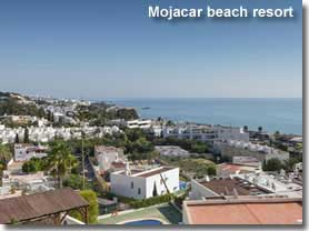 Low rise beach resort of Mojacar