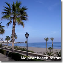 Mojacars beach and resort