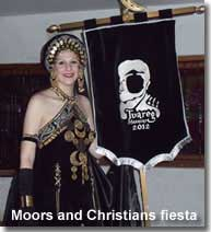 Moors and Christians costume