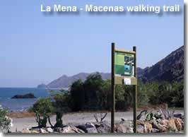 Macenas signposted walking trail