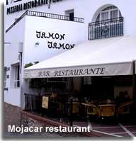 Eating out in Mojacar